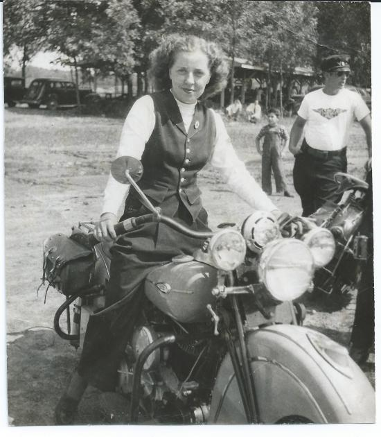 scan motorcycle woman